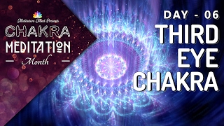 Chakra Sleep Meditation Music | OPEN THIRD EYE Chakra Meditation Balancing & Healing, Deep Sleep
