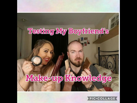 Captain & Go Pro | Testing My Boyfriend's Make Up Knowledge!