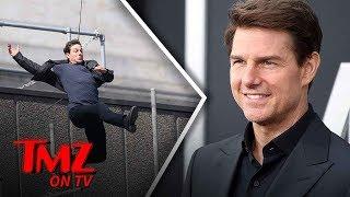 Tom Cruise Is Doing His Own Stunts Again | TMZ TV