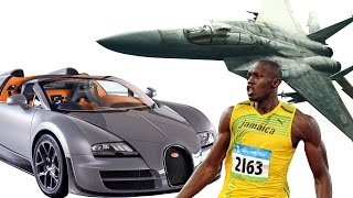 Top 10 Fastest Things In The World