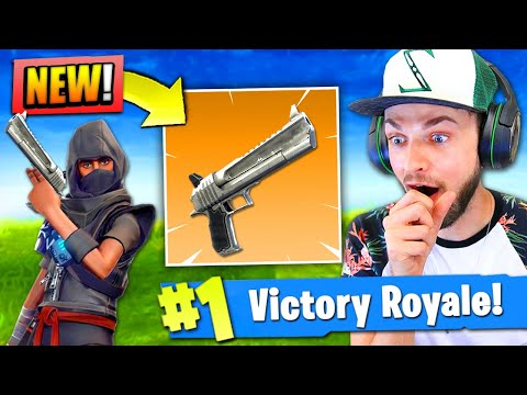 *NEW* HAND CANNON coming to Fortnite: Battle Royale!