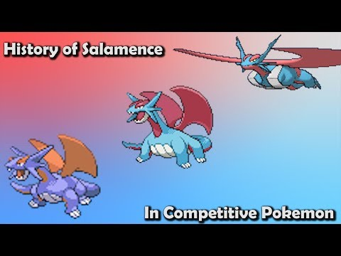 How GOOD was Salamence ACTUALLY History of Salamence in Competitive Pokemon Gens 3 6