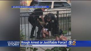 Rough Arrest Or Justifiable Force?