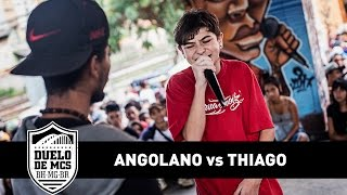 Duelo de MCs - Angolano vs Thiago (Semifinal) - Tradicional - 19/03/17