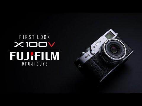 Fuji Guys FUJIFILM X100V First Look