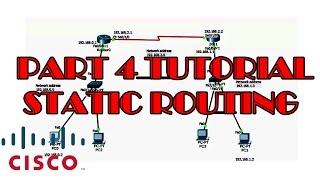 #4 How to Static Route and Configure Router without using CLI in two Networks(WAN)