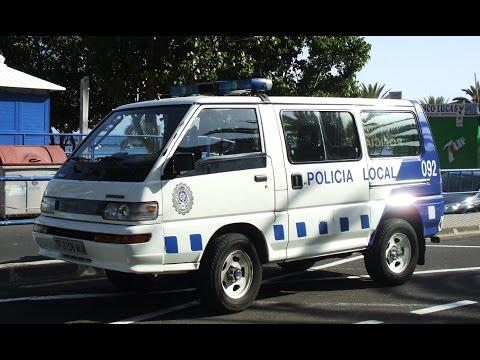 Tenerife (Spain) emergency vehicles (police & EMS photo slideshow) [4/2006]