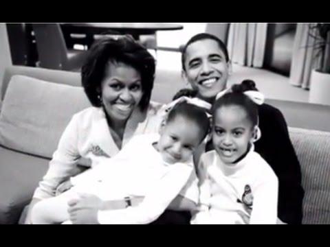 Obama Farewell Address Where was Sasha Obama