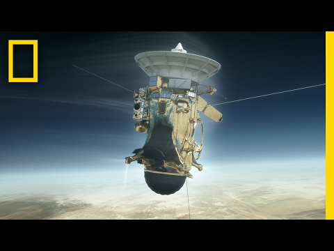 Crashing Into Saturn This Cassini Mission Is the Most Epic Yet Short Film Showcase