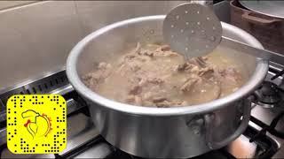 لحم باللبن (( شاكريه )) على طريقة بنت الهاشمي