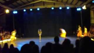 Nafsi Africa Acrobats at Acrobatic Festival 2012 Part 2/3