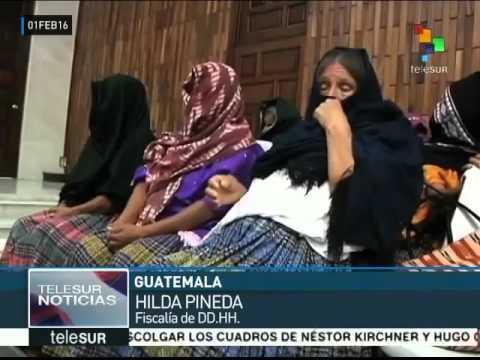 Guatemala julga militares por estupro de mulheres maias