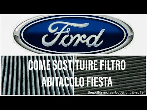 Sostituzione filtro abitacolo Ford Fiesta MK6   Fai da Te Bricolage