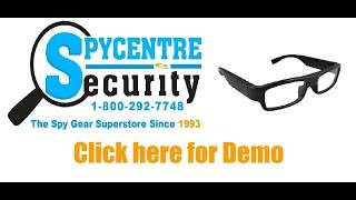 720P Spy Glasses - Review