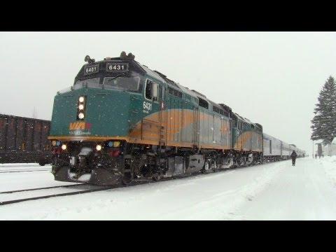 The Canadian 4.400 kilómetros en tren de Vancouver a Toronto