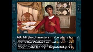 Everything Wrong With Nancy Drew: Message in a Haunted Mansion