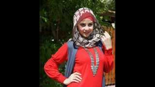Egyptian girls wearing the hijab, Arab girls