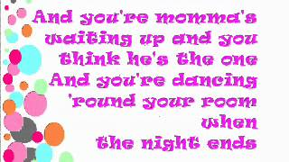 TAYLOR SWIFT~Fifteen[Lyrics on screen+description]