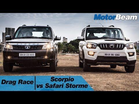 Xxx Mp4 Mahindra Scorpio Vs Tata Safari Storme V400 Drag Race MotorBeam 3gp Sex