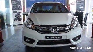 Honda Amaze (facelift)   Real-life review