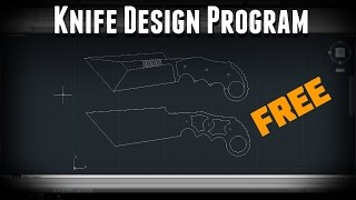 How to download AutoCad free for designing knives!