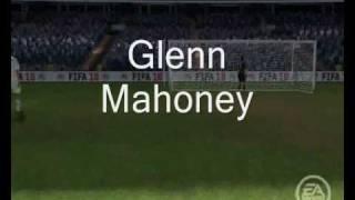 Fifa 10 -  Glenn Mahoneys Half Way Line Banger. (WITH ASHLEY COLE'S RIGHT FOOT!)