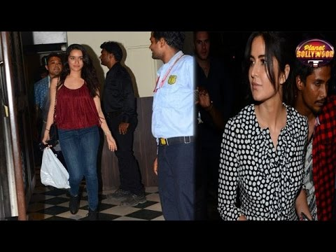 Katrina Kaif & Shraddha Kapoor Play The Ignore Game | Bollywood News