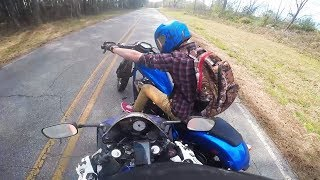 28 Stupid & Crazy Motorcycle Close Calls & Near Misses   Moto Madness