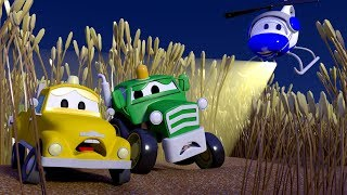 Harvey the Harvester and the sneeking babies ! The Car Patrol in Car City l Cartoons for Children