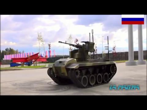 New Russian Combat Robot Nerehta -