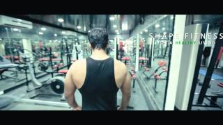 SHAPE FITNESS COMMERCIAL GYM AD