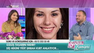 Diş Hekimi Yiğit Emrah Kurt - Beyaz TV Sağlık Zamanı - 23.09.2017