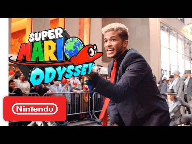 Super Mario Odyssey New York Launch Celebration!! - Nintendo Switch