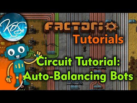 Factorio Tutorials Balancing Your Robot Minions Automatically