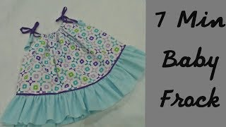 Simple & Easiest Summer Baby Top Cutting & Stitching Full Tutorial_Easy to make at home