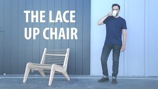 The Lace Up Chair