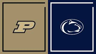 First Half Highlights: Penn State at Purdue | Big Ten Basketball