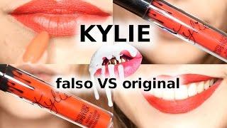 KYLIE LIPSTICK falsos y originales | COMPARACIÓN | Pretty and Olé