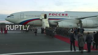 Germany: Putin arrives in Berlin ahead of Normandy Four meeting