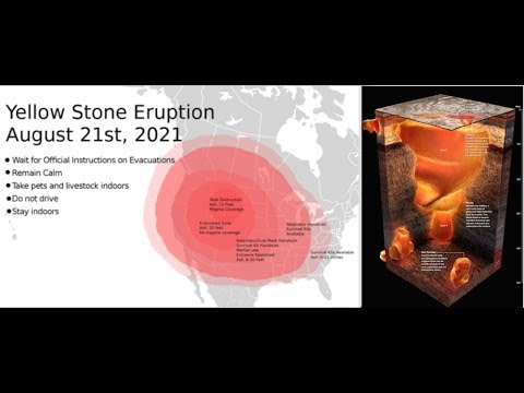 Leaked Plan to Ignite the Yellowstone Volcano Earthquakes Reach Yearly Average in 2 Weeks
