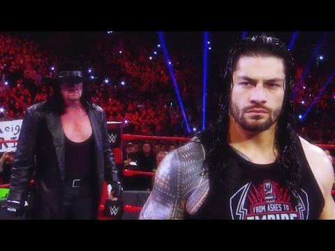 Road to WrestleMania 33: The Undertaker vs. Roman Reigns