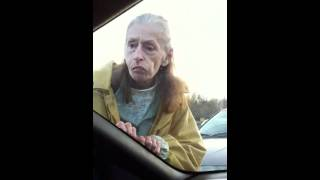 Old lady at walmart