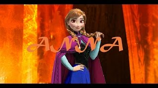 Requested: Frozen: Fire Anna Banner/Image