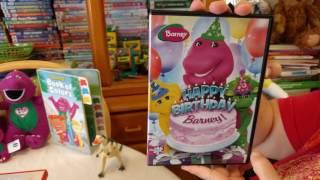Kiana's Barney DVD Collection! Part 5