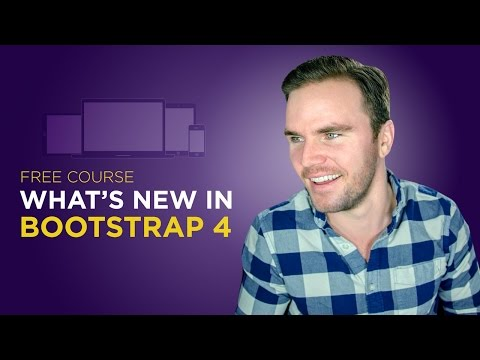 Bootstrap 4 Tutorial [#1] What's New in Bootstrap 4?