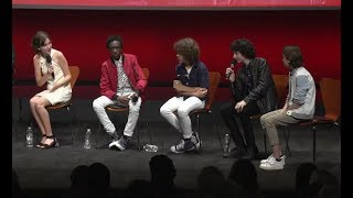 Stranger Things cast interview at Netflix FYSEE event
