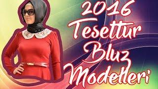 Tozlu Tesettür bluz gomlek modelleri 2016 koleksiyonu