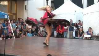 Long Skirt: Russian Gypsy Dancer