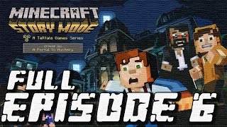 Minecraft: Story Mode - Full Episode 6: A Portal to Mystery Walkthrough 60FPS HD