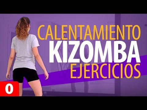 Calentamiento para bailar Kizomba